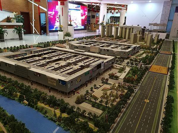 京开城楼盘模型