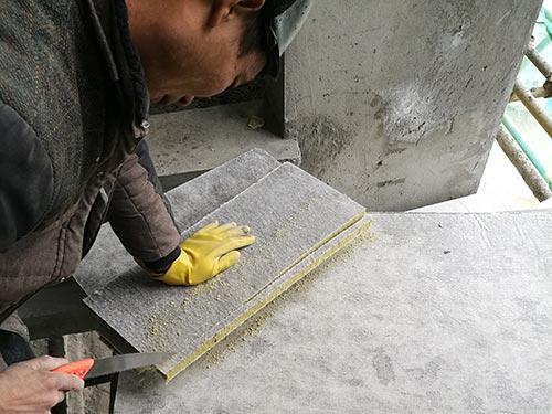 复合保温岩棉板